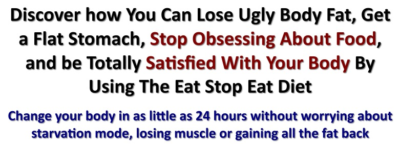 Discover how You Can Lose Ugly Body Fat, Get a Flat Stomach