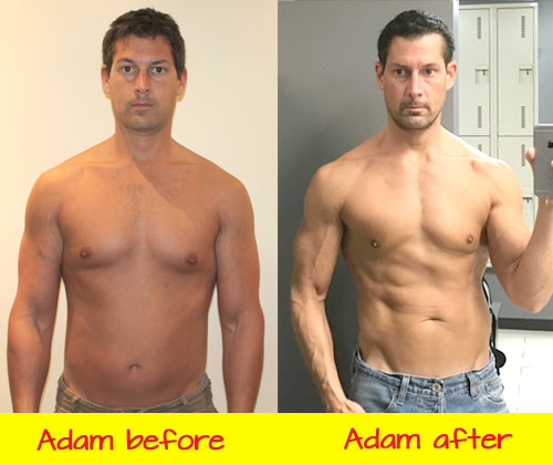 food freedom Eat Stop Eat And More Brad Pilon Bestsellers adam before after